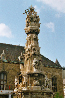 The Holy Trinity Column in front of Matthias Church
