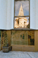Reflections of Fishermans Bastion