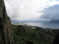 View from Torghatten