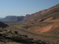 The Moab Fault, Highway 191 and the park entrance road