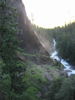 Mist Trail Morning