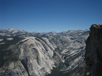 View of Yosemite Valley from Half Dome