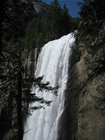 Thanks for the refreshing mist, Vernal Falls!