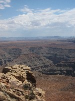 View from Muley Point towards Monument Valley