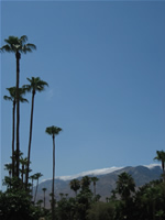 Palm Springs cloud barrier