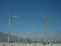 San Georgonio Pass Wind Turbines