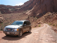 Chevy on the Shafer Trail