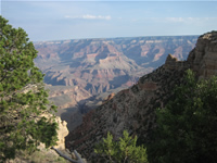 South Kaibab Trail Canyon Views