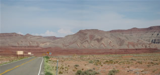 Mexican Hat Painted Desert